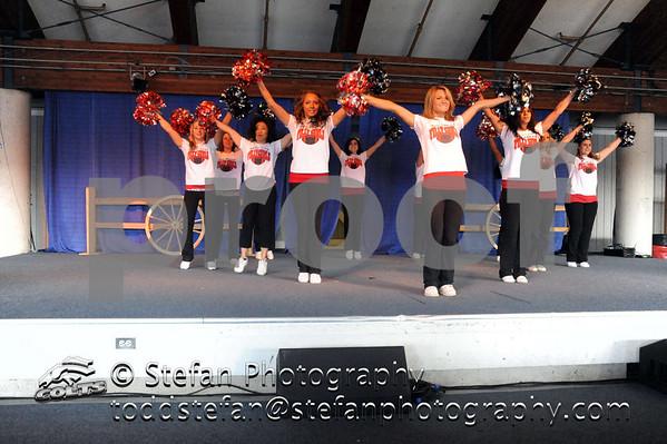 04-17-2011 SKC Colts Cheer At Spring Puyallup Fair