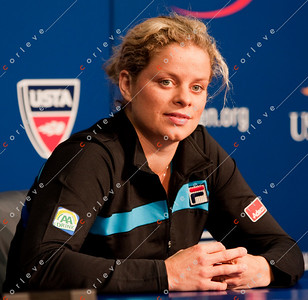 Kim Clijsters [BEL]-Interview-090410