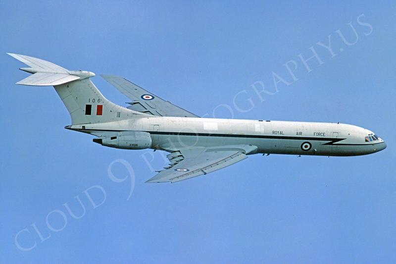 BAC VC-10 00006 British RAF XV106 10 September 1983 by Stephen W D Wolf .JPG