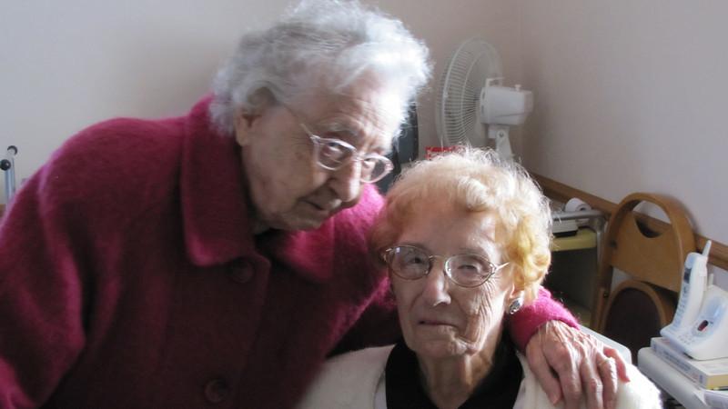 Marie Thorson and Amelia Payne