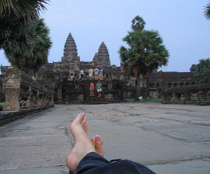 Ankgor Wat: Cambodia, October 2005