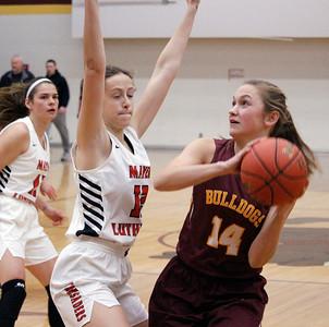 GIRLS BASKETBALL: Mayer Lutheran vs. LPHT
