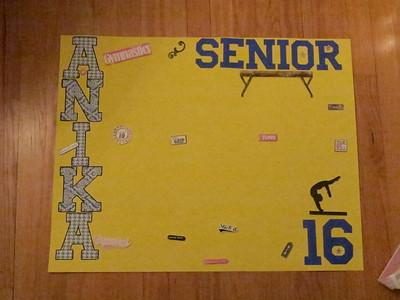 Senior Night Banners