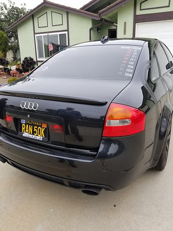 100K miles RS6