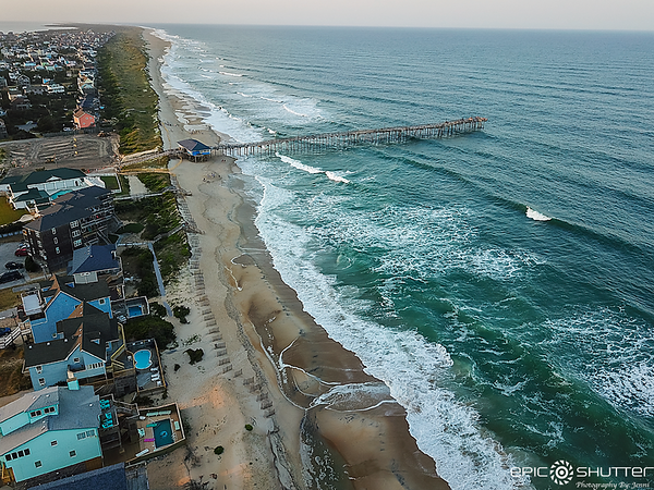 May 25, 2021 Avon Fishing Pier, Aerial Photography