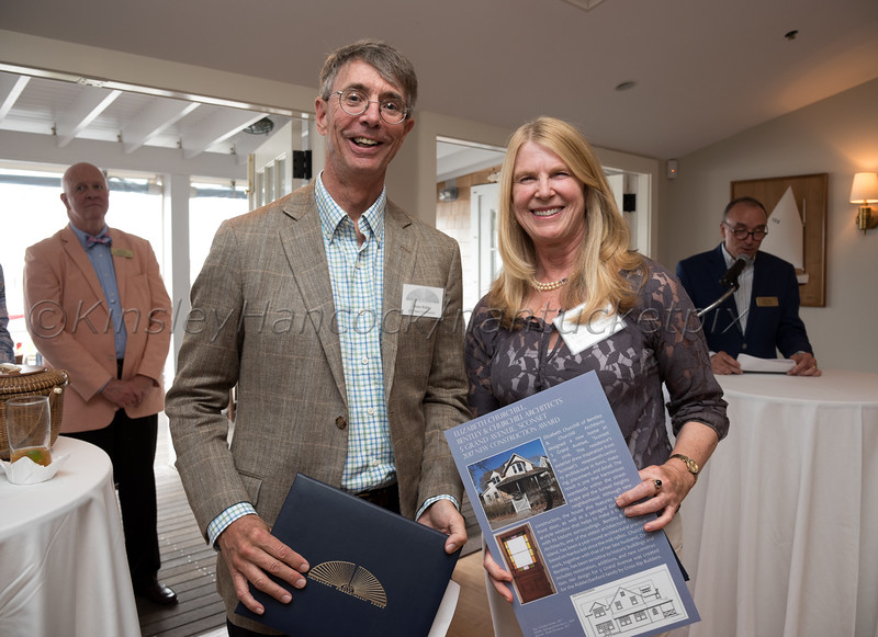 Nantucket Preservation Trust Annual Preservation Awards, Nantucket Yacht Club, Nantucket, MA June 29, 2017