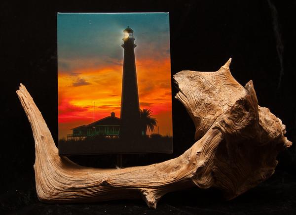 Cedar Mounted Canvas Photographs