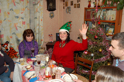2010-01-01, Meeting New Year 2010 with Julia Kutukova