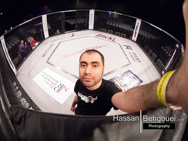 BFL 23 Vancouver Convention Centre Downtown BC Canada BattleField Fight League Fish Eye Highlight (5_25_13)