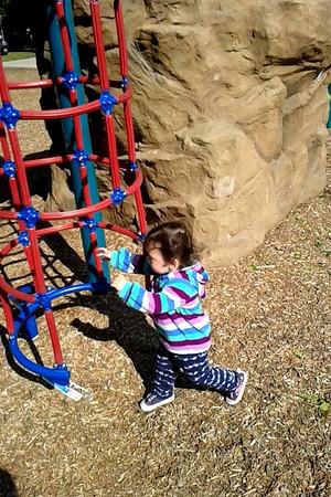 Kaitlin's playground antics
