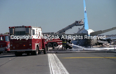 JFK CARGO PLANE CRASH and FIRE on March 12, 1991