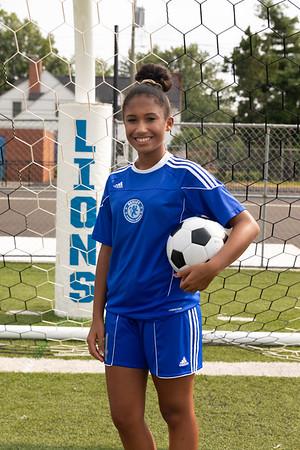 Soccer Girls Individual Photos
