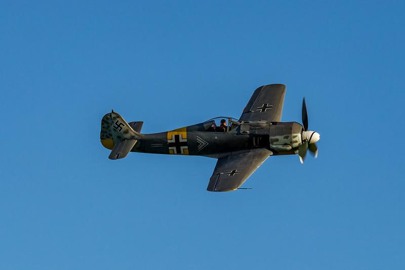 «Classic Fighters Omaka 2019»: Focke Wulf Fw190A