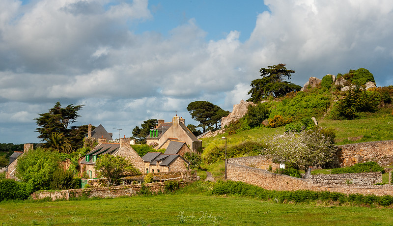 Village in Finistere