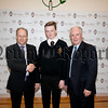 """Best in School at GCSE"" – Ronan Burke pupil ( & John Cahill & Dermot McGovern). R1548004"