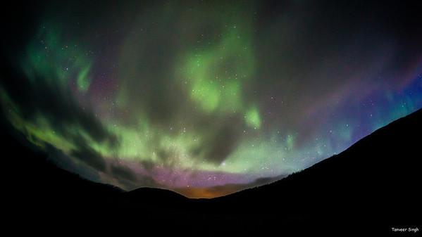 Troms 6 : Kilpisjarvi Aurora