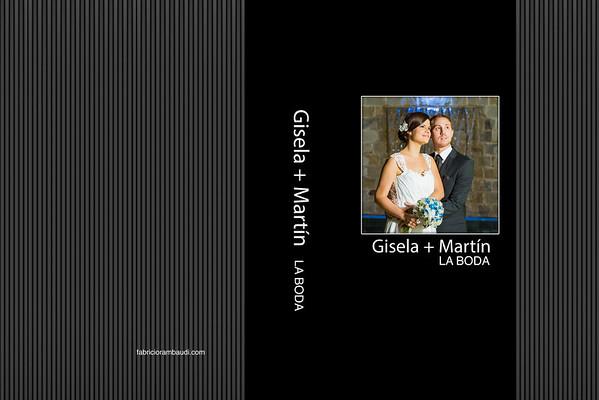 Fotolibro 30x45 Gisela y Martín La Boda