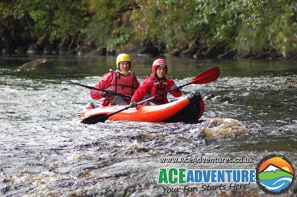 12th October Findhorn Canoe Kayak