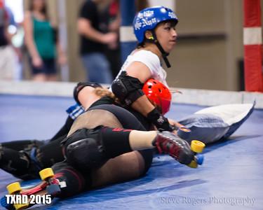 TXRD Playoffs 2015 Las Putas del Fuego vs. Holy Rollers 8/29/2015
