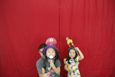 Lucas' 1st Birthday Photobooth - Photos