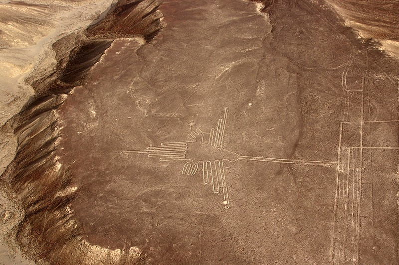 Nazca Lines flight in Peru
