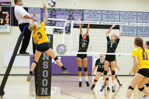 2015-10/20:  Sunrise Mountain High School vs. VVHS