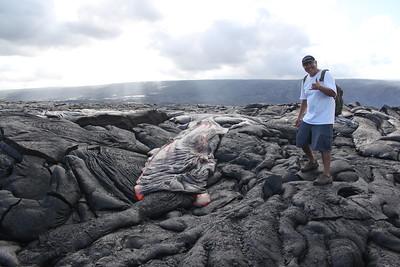 Pu'o O'o July 2016 Lava Flow
