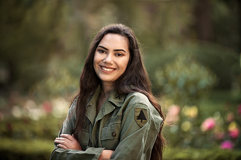 Sabine-Senior Photography- Rose Garden - Morris Chapel - University of the Pacific- Stockton - North California