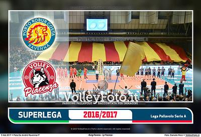 10ª ritorno #SuperLega «Bunge Ravenna - Lpr Piacenza»