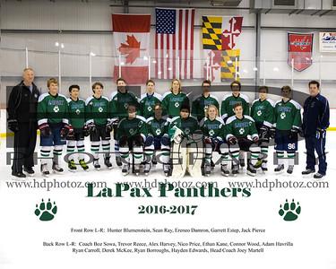 LaPax Varsity Ice Hockey 2016-2017