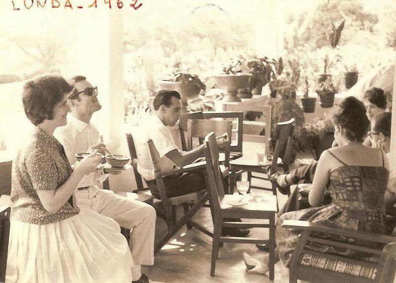 Andrada 1962 Casamento da ISABEL AMARAL Casal Ze' Gameiro, Albino, Vera Lucia ( Júlio Conceição)