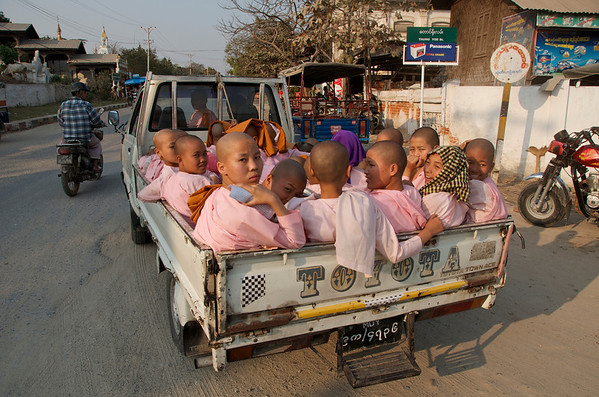 PUBLIC TRANSPORT IN BURMA