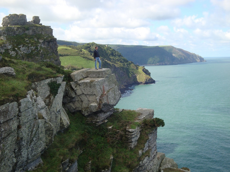 We walked the cliff trail to the Valley of the Rocks.