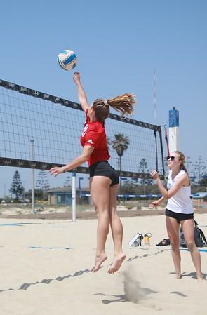 Los Al Girls JV Beach VB Game May 12, 2021