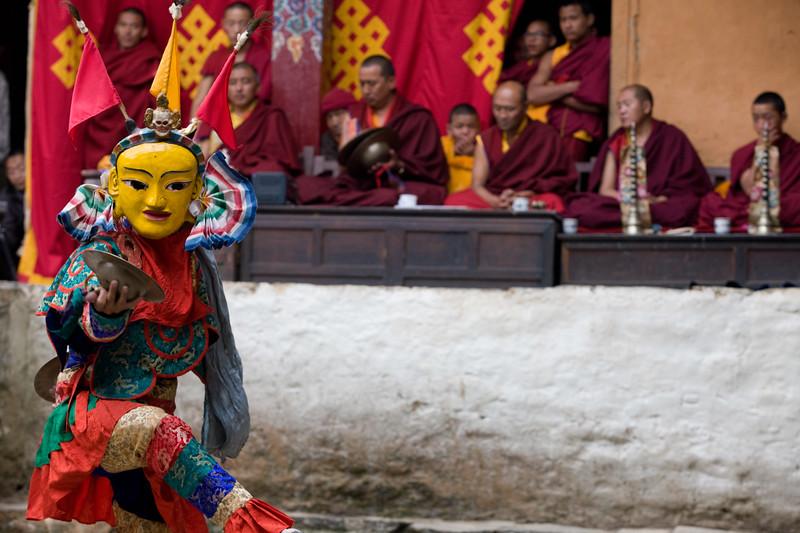 Ghing-Pa, second dance of Mani Rimdu festival.