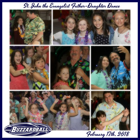 FEBRUARY 17TH, 2018   St. John the Evangelist Father-Daughter Dance