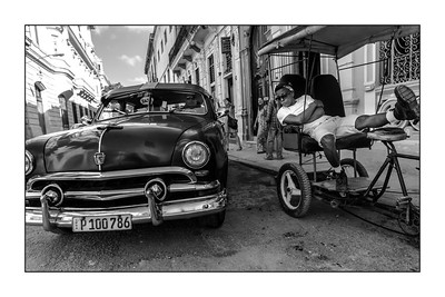Havana: vignettes (b/w)