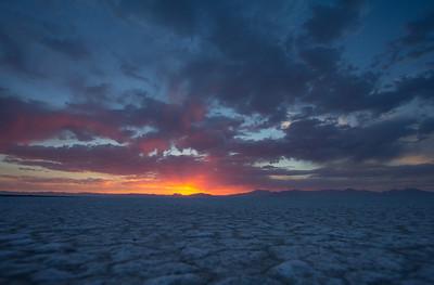 Bonnevill Salt Flats (Utah)