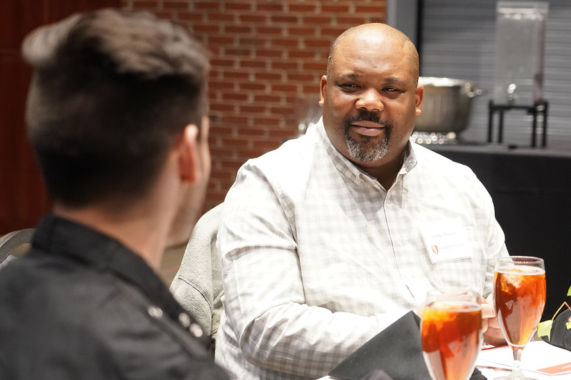 Gardner-Webb hosts its annual Scholarship Luncheon where current students get to meet the donors who help to create and support the scholarships that the students receive. The lunch was held in Tucker Student Center on the afternoon of Feb. 20, 2020.