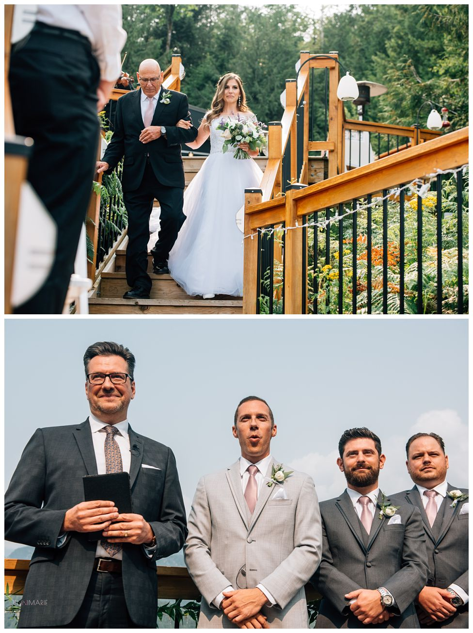 American Creek Lodge Wedding with Designer Ceremonies