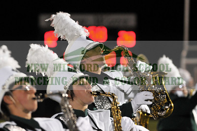 NEW MILFORD HIGH SCHOOL MARCHING BAND at New Milford Football Game, October 30, 2009