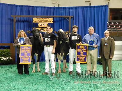 Grand National Junior Holstein Show 2015