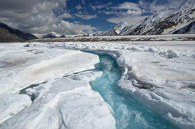 Black Rapids Glacier