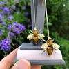 Vintage Bee Conversion Earrings 17