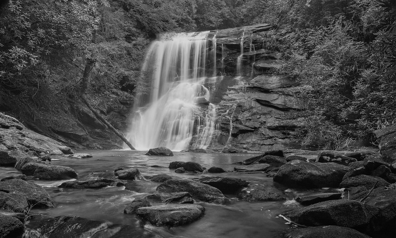 Timpson Creek Falls