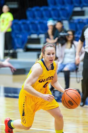 Women's Basketball - Queen's at Toronto 20150220
