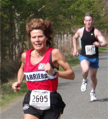 2003 Merville 15K - Laura Leno and Bruce Henning