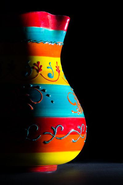 Mexican vase.