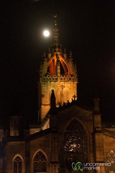 St. Giles Cathedral at Night - Edinburgh, Scotland
