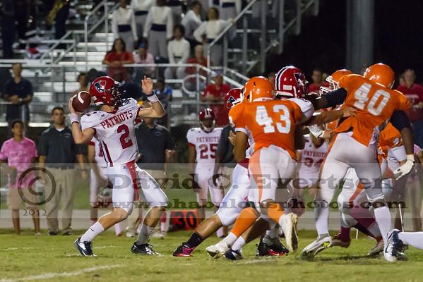 Boone Varsity Football #43 - 2012